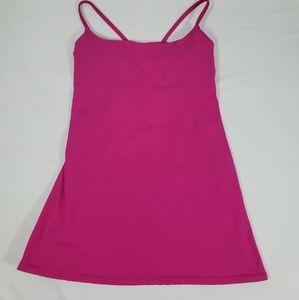 Lululemon Athletica Hot Pink Yoga Cami Tank Top